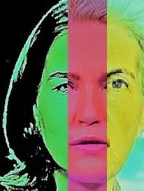 Kopf, Portrait, Menschen, Frau
