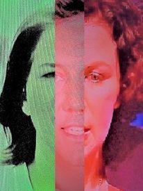 Gesicht, Menschen, Synthese, Frau