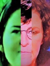 Portrait, Synthese, Menschen, Kopf
