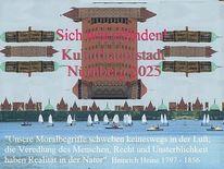 Plakatkunst, Heinrich heine, Kulturhauptstadtbewerbung, Nürnberg 2025