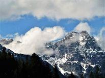 Berge, Wolken, Wetter, Panorama