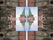 Offenes buch, Buch, Nürnberg 2025, Bewerbung