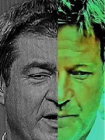 Umfrage, Mann, Portrait, Gesicht