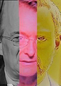 Portrait, Umfrage, Mann, Politische farbenlehre