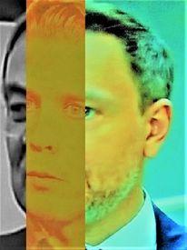 Menschen, Mann, Koalition, Portrait