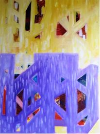 Malerei, Farben, Elemente, Abstrakt