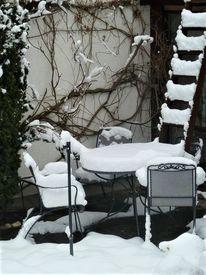 Stillleben, Winter, Schnee, Fotografie
