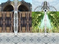 Utopie, Landschaft, Digitale erweiterung, Fotografie