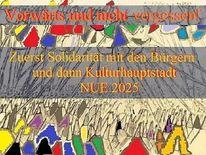Bürgeraufstand, Kulturhauptstadt nürnberg nue2025, Solidarität, Illustration
