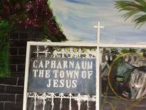 Kapernaum, Israel, Synagoge, Malerei