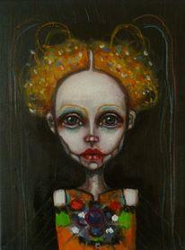 Skurril, Portrait, Traum, Figurativ