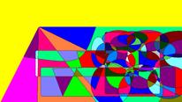 Farben, Digital, Abstrakt, Digitale kunst