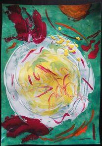 Acrylmalerei, 2013, Malerei, Strudel
