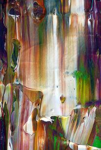 Lila, Muster, Fließende farben, Weiß