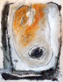 Organisch, Titel2, Aquarellmalerei, Malerei