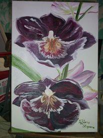 Malerei, Orchidee