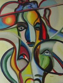 Surreal, Fantastische malerei, Künstlerlexikon, Acrylmalerei