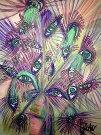 Bunt, Modern, Surreal, Malerei