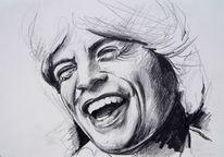 Mick jagger zeichnung, Stones zeichnung, Rolling, Mick jagger