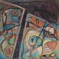 Roboter, Farben, Experimentelle malerei, Drachenläufer