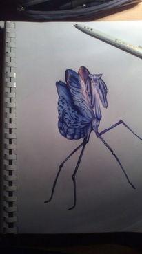 Kugelschreiber, Malerei