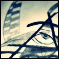 Bewusstsein, Seele, 2012, Augen