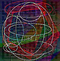 Gedanken, Abstrakt, Digitale kunst,