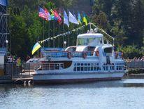 Ukraine, Motorschiff, Meer, Ternopil