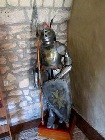 Mittelalterlich, Statue, Ritter, Fotografie