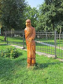 Statue, Krieger, Ukrainisch, Fotografie