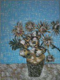 Ölmalerei, Malerei, Stillleben