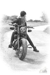 Motorrad, Natur, Harley, Fotografie