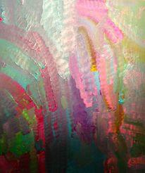 Regenbogen, Malerei, Abstrakt