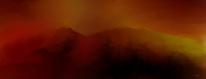 Landschaft, Rot, Atmosphäre, Digitale kunst
