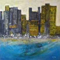 Landschaft, Modern, Zeitgenössische kunst, Malerei