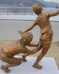 Skulptur, Kupfer, Kunsthandwerk