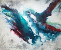 Zeitgenössisch, Schwarz, Zeitgenössische kunst, Farben