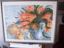 Aquarellmalerei, Arches, Malerei, Tulpen