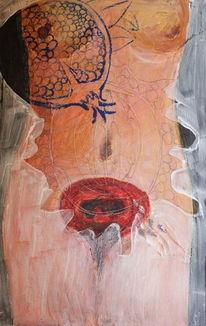 Granatapfel, Malerei