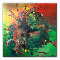 Malerei, Moderne kunst, Gemälde, Abstrakt