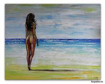 Wandbild, Malerei, Frau, Akt