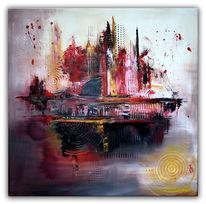 Gemälde, Malen, Abstrakt, Moderne kunst