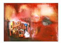 Paris, Moderne kunst malerei, Stadt, Gemälde