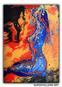 Modern, Erotik, Acrylmalerei, Malerei