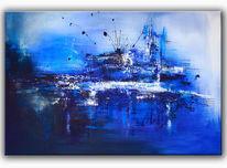 Gemälde, Wandbild, Abstrakte malerei, Acrylbild abstrakt