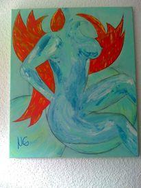 Erotik, Malerei, Engel