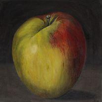 Apfel, Realismus, Ölmalerei, Früchte