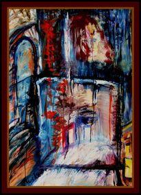 Ölmalerei, Malerei, Bühne, Abschied