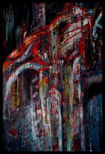 Ölmalerei, Malerei, Kreuzigung