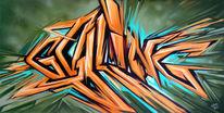 Kalligrafie, Street art, Wildstyle, Calligraffiti